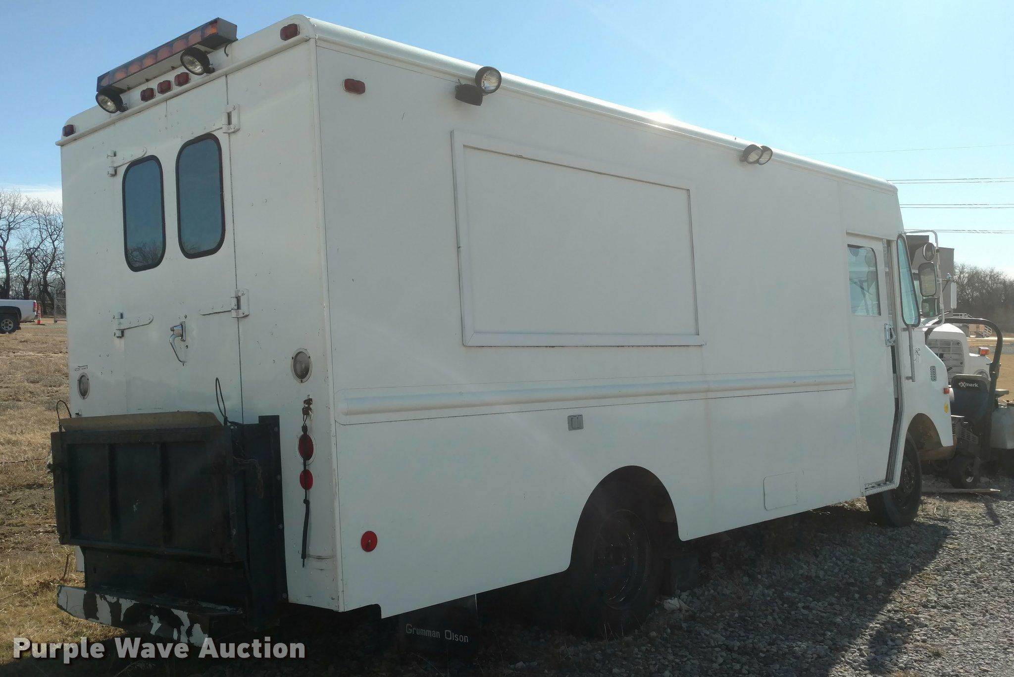 1982 Chevrolet P30 Grumman Delivery Van Item Bu9900 Sold Truck Fuel Filter Full Size In New Window