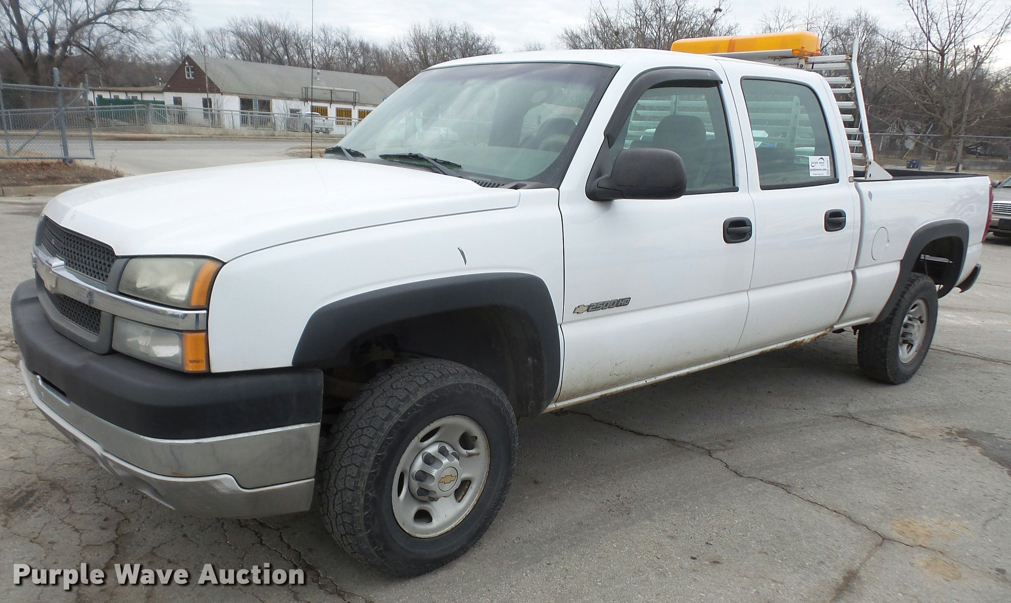 bed truck for item auction chevrolet utility i pickup silverado image