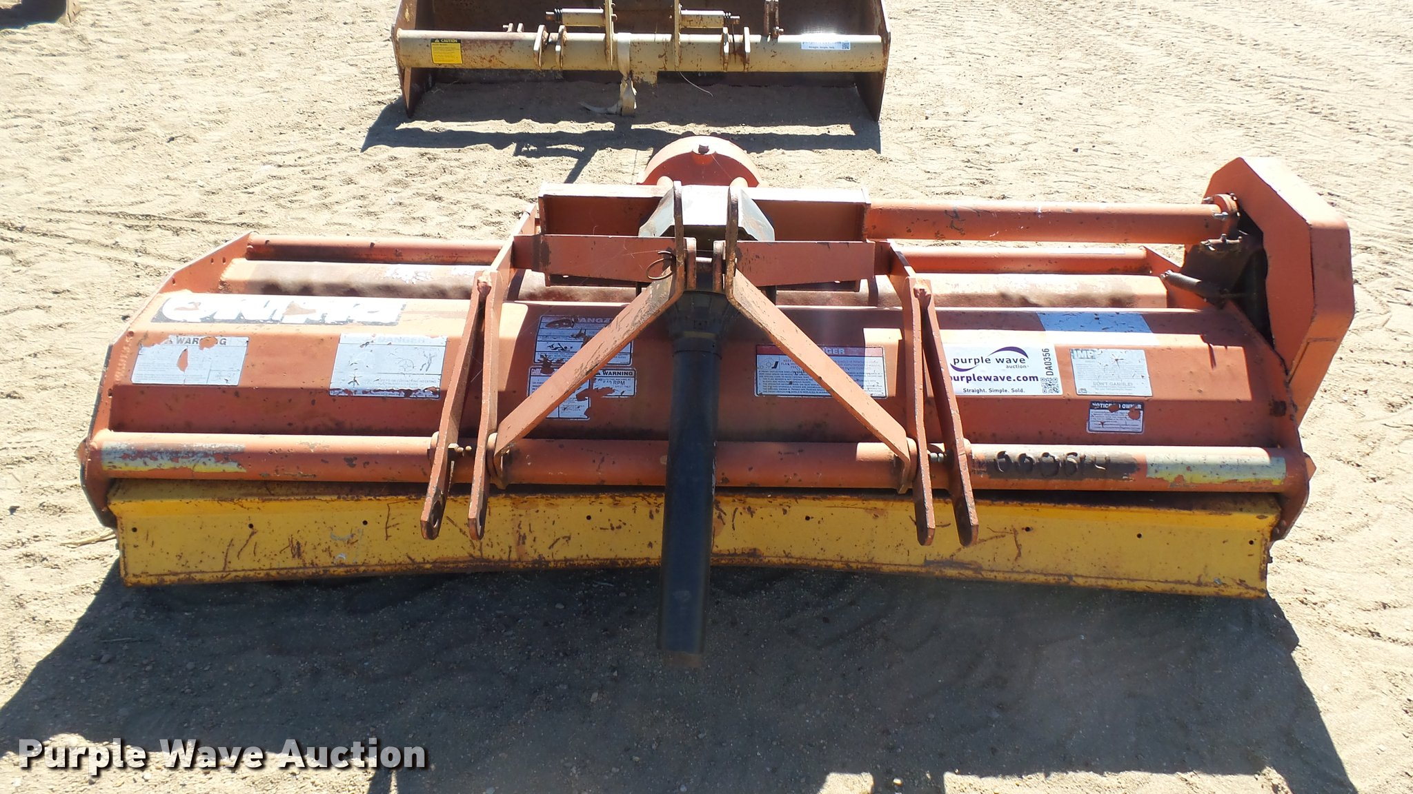 Rhino RH74 flail mower | Item DA0356 | SOLD! March 8 Ag Equi