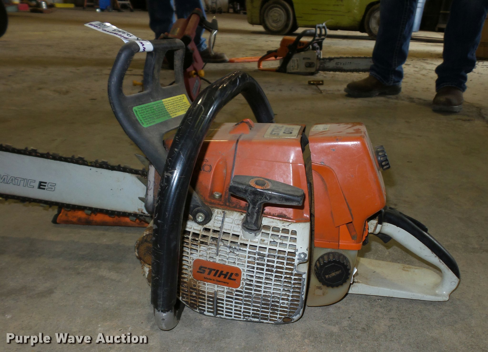 Stihl 066 chain saw | Item AX9353 | SOLD! March 14 Jim Kidwe