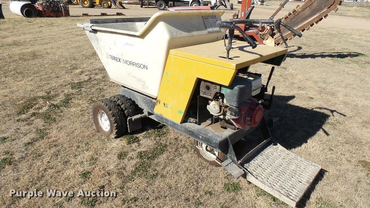 Terex Morrison OMPB16A-S concrete buggy   Item CB9537   SOLD