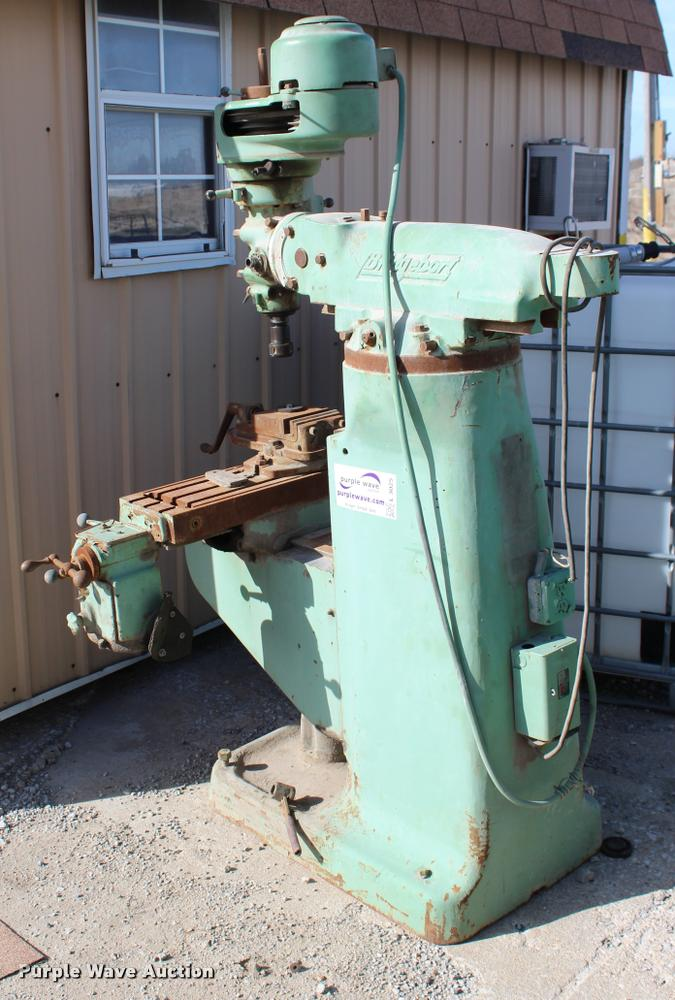 Bridgeport Mill For Sale >> Bridgeport Mill Item L3025 Sold March 15 Vehicles And E