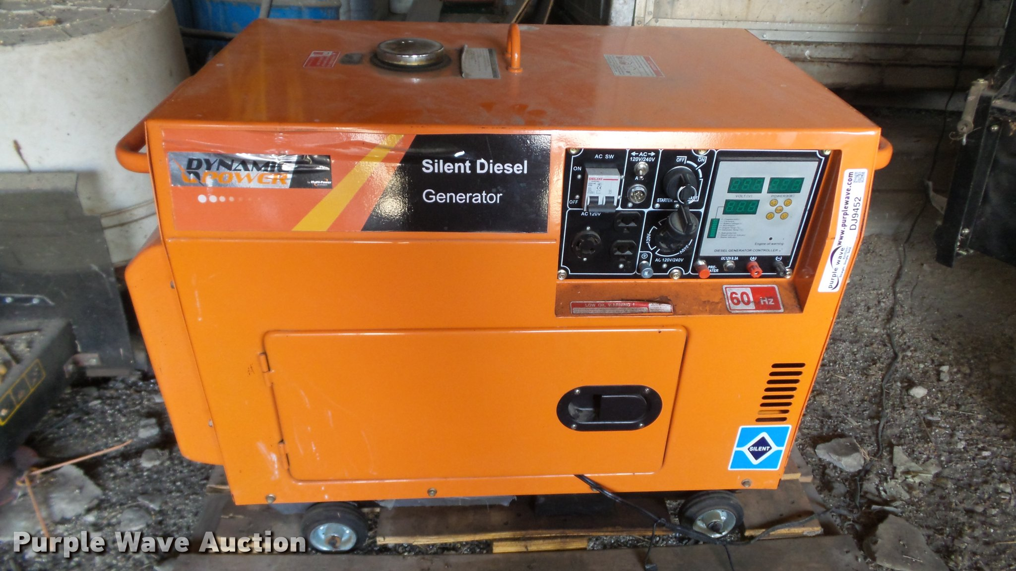 Dynamic Power Silent sel generator Item DJ9452