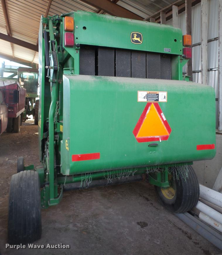 2003 John Deere 467 round baler | Item DB0678 | SOLD! March