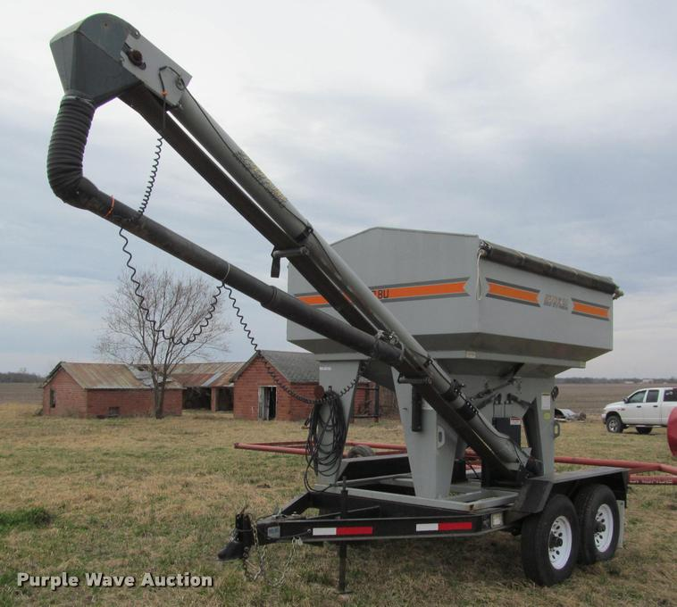 2004 CrustBuster 160ST seed tender | Item DT9656 | SOLD! Mar