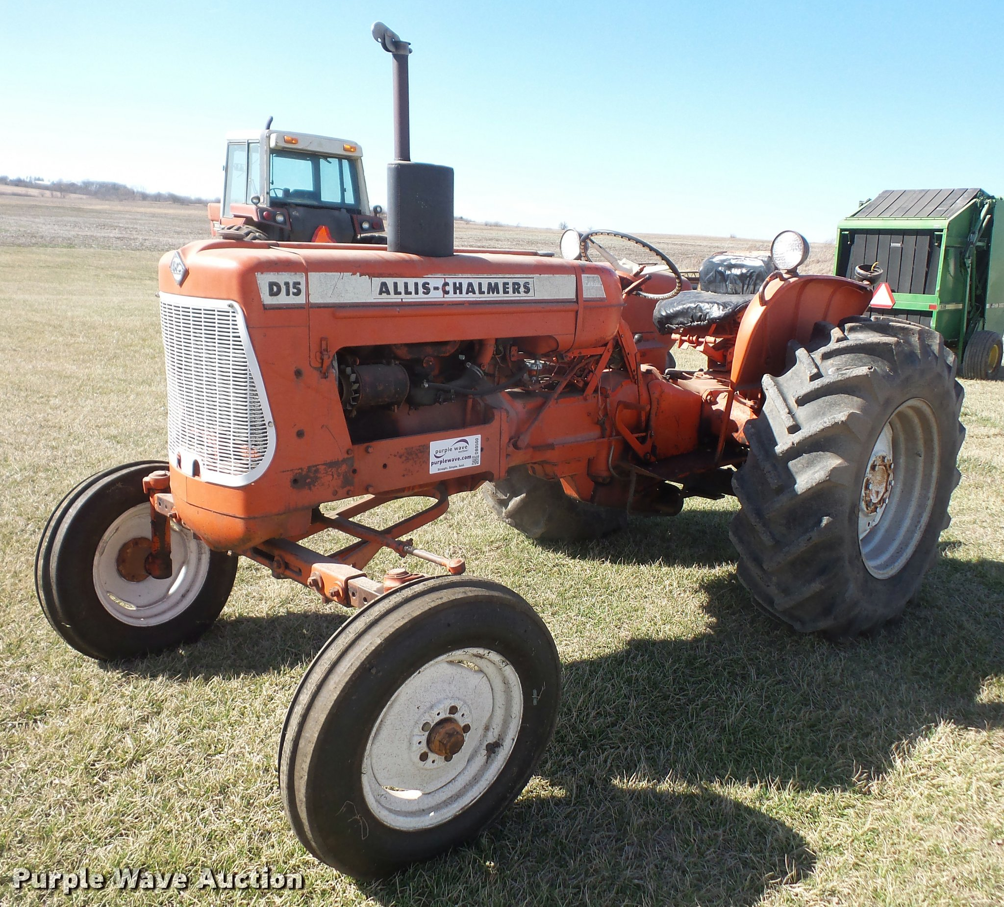 1961 Allis Chalmers D15 Series 2 tractor Item DB0500