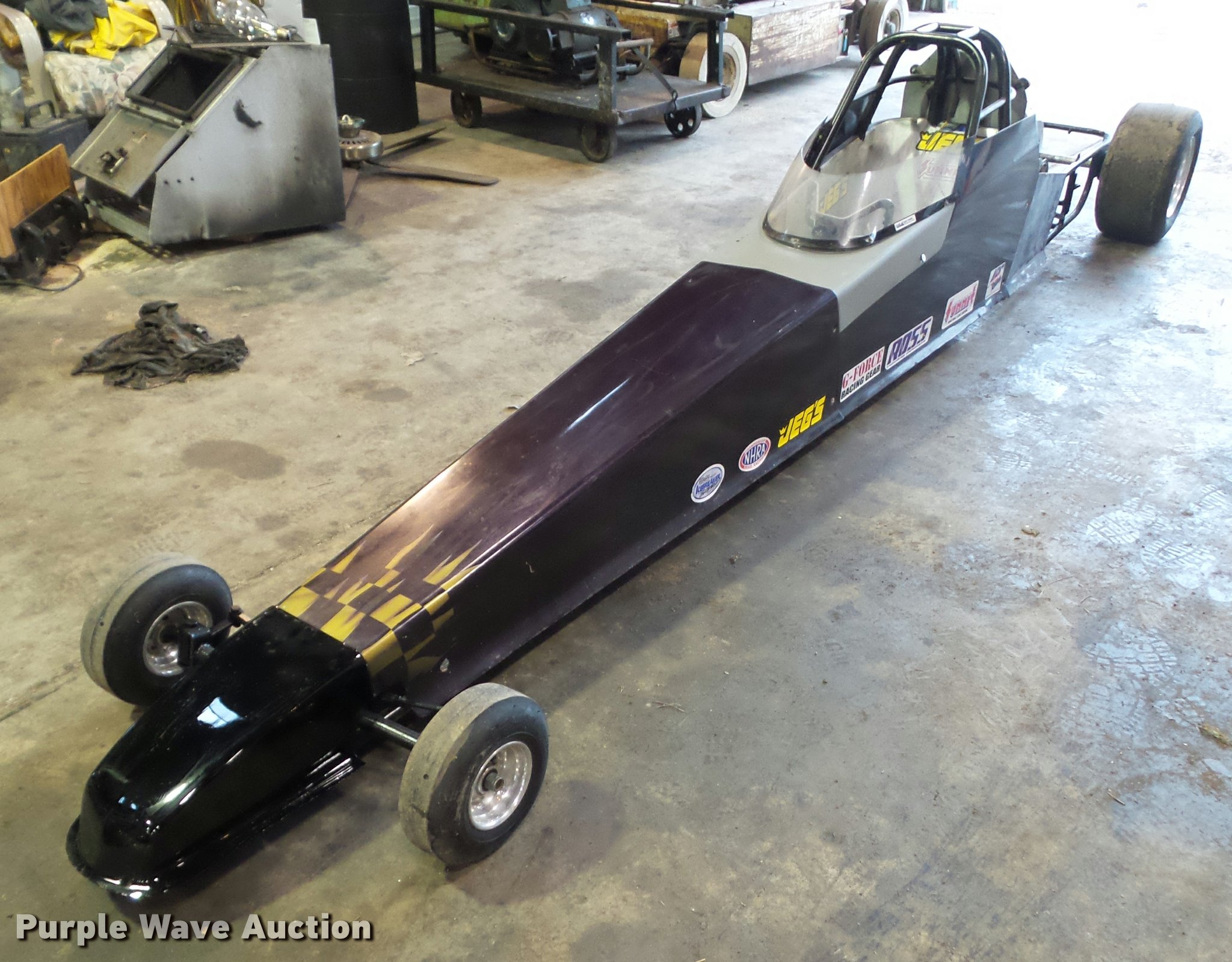 Junior dragster | Item CB9833 | SOLD! March 29 Vehicles and