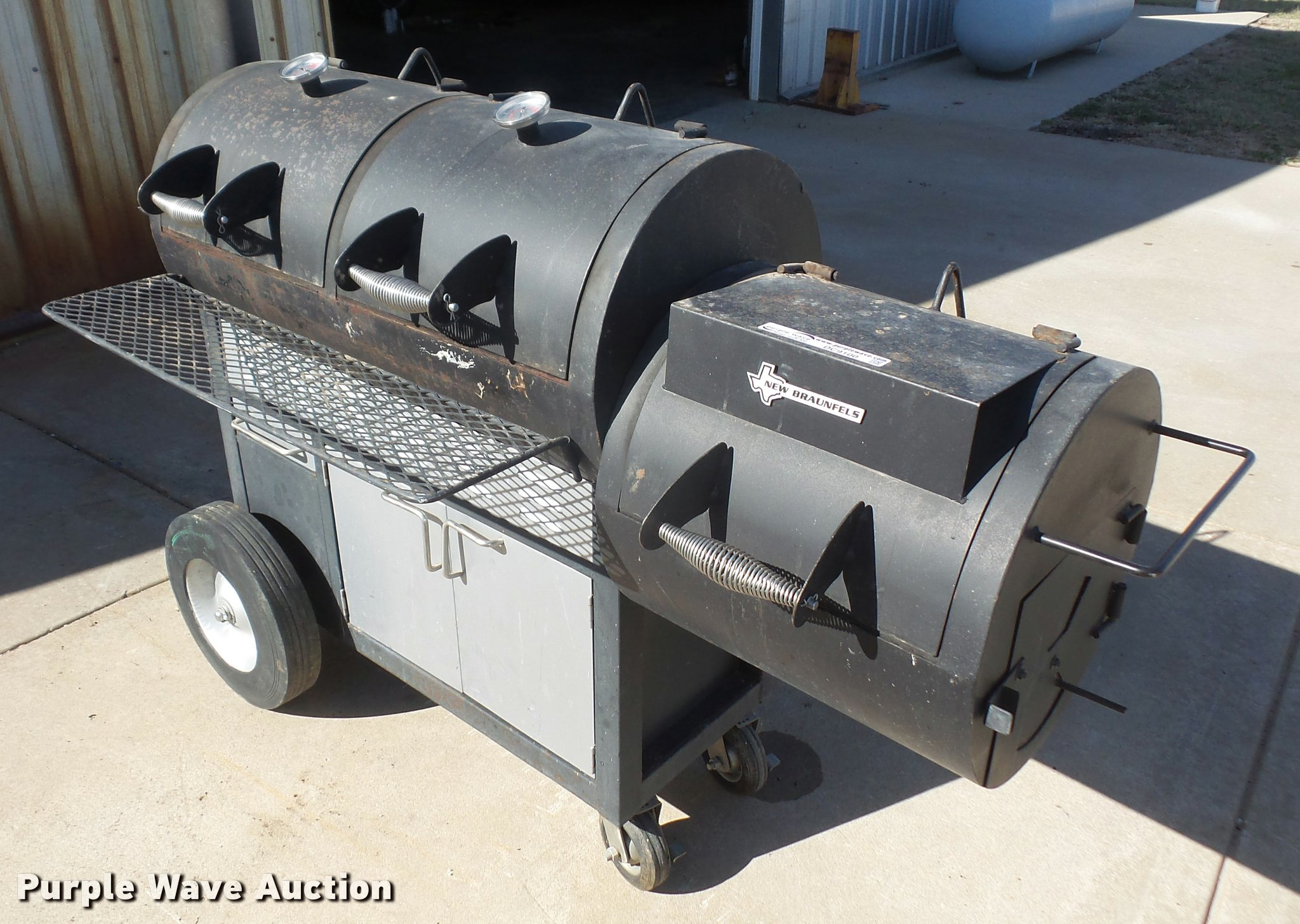 new braunfels smoker item dc9100 sold march 29 vehicles