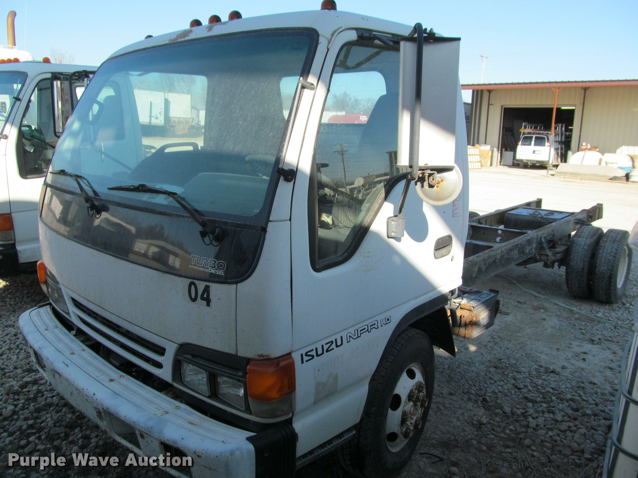 2000 isuzu npr truck cab and chassis   item dt9234   sold! m