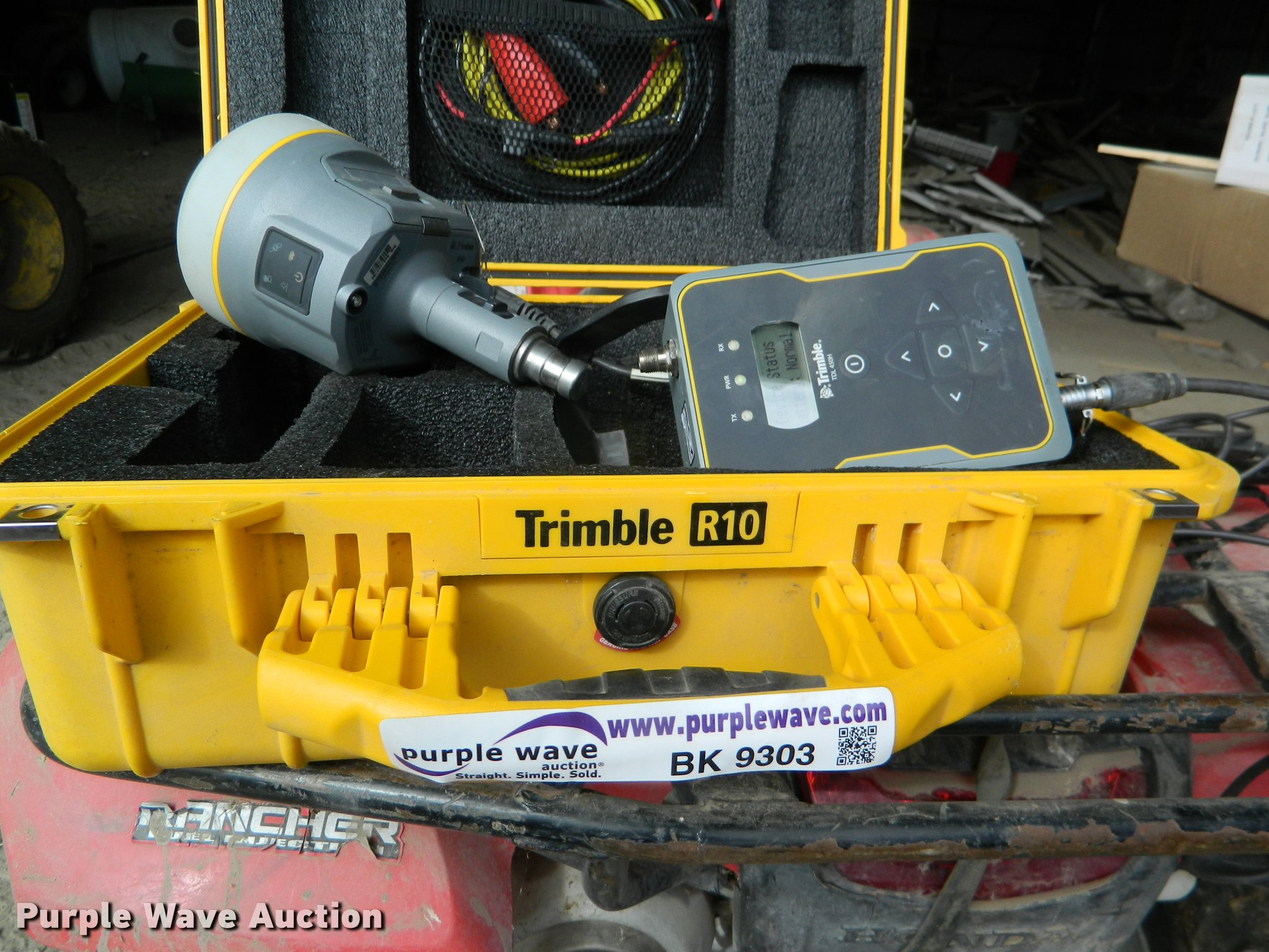 Trimble R10 GNSS surveying system | Item BK9303 | SOLD! Marc