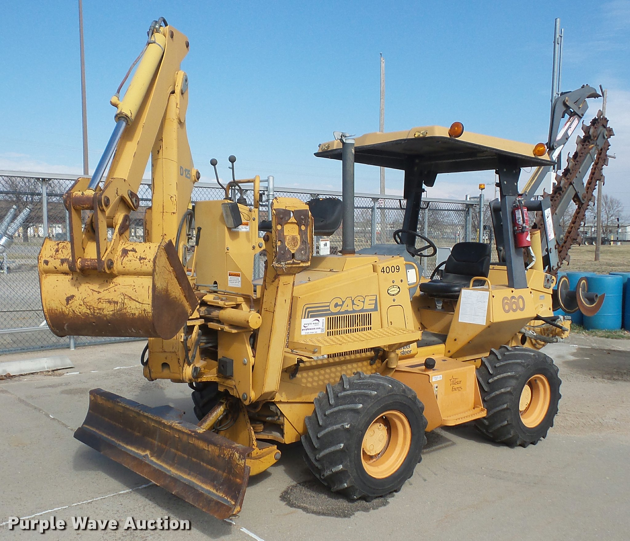 DB0674 image for item DB0674 1999 Case 660 trencher Full size in new window  ...