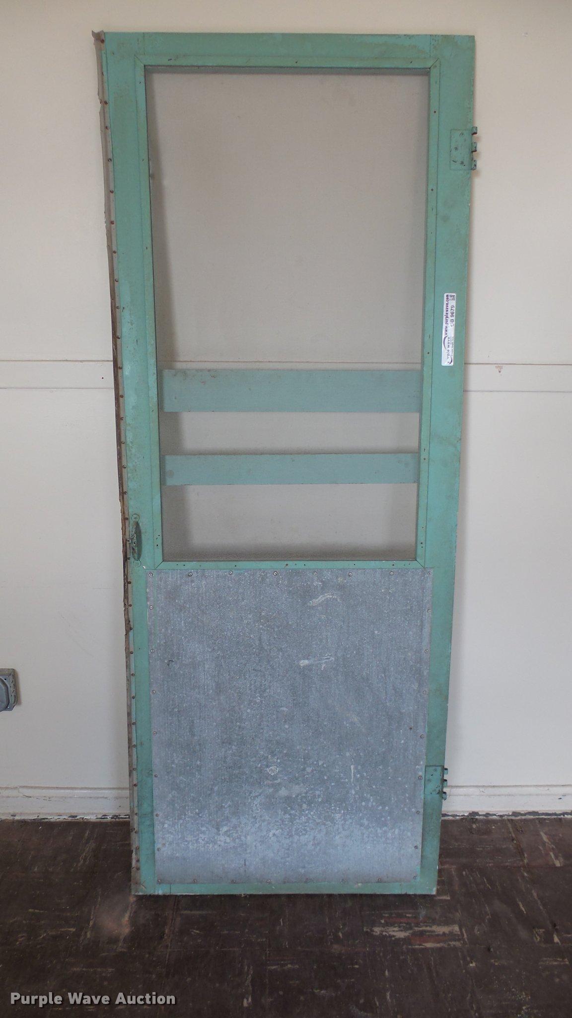 Wood Screen Door Item Cb9679 Sold April 4 Government Au