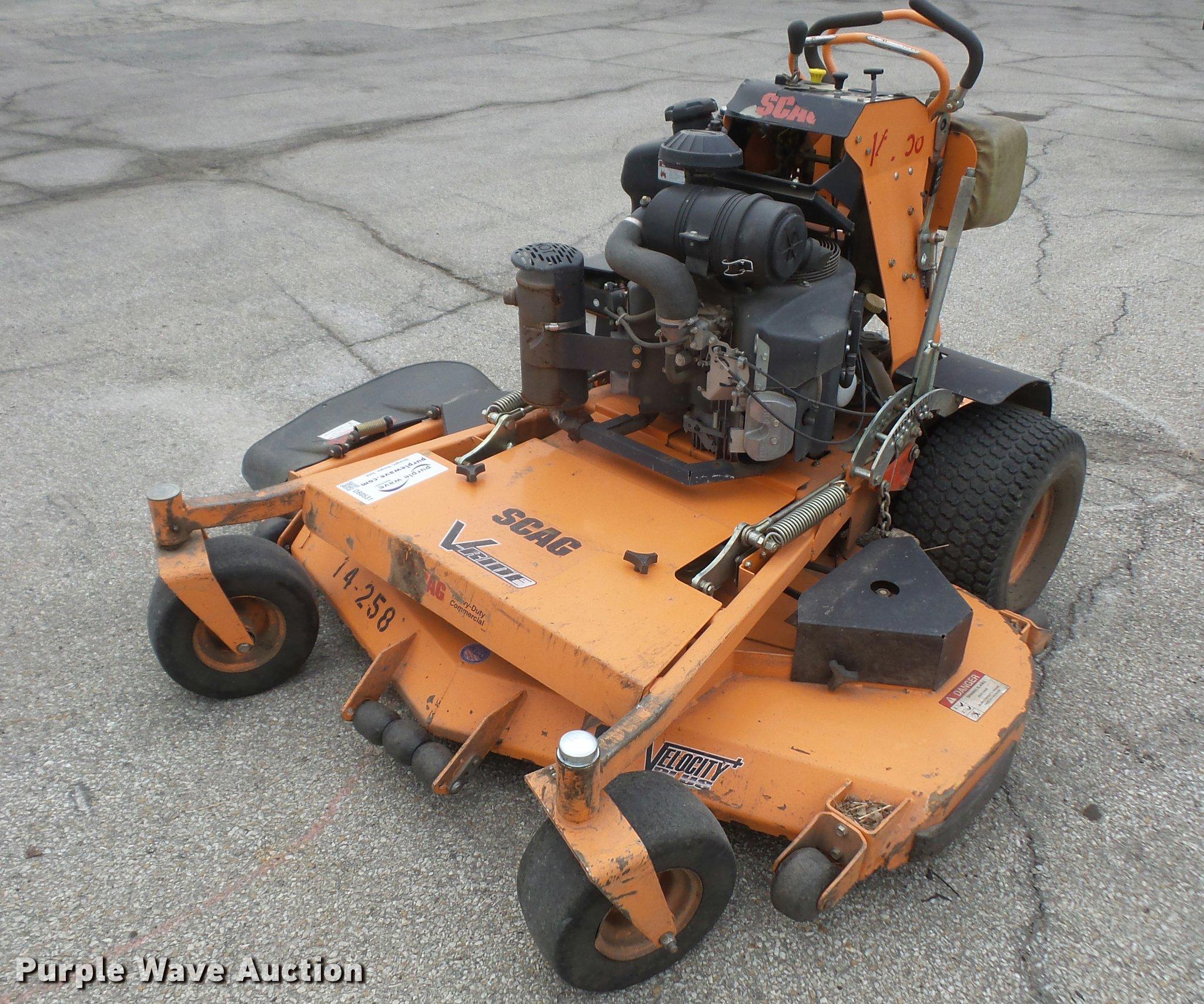 Scag V Ride Lawn Mower Item Db0531 Sold April 4
