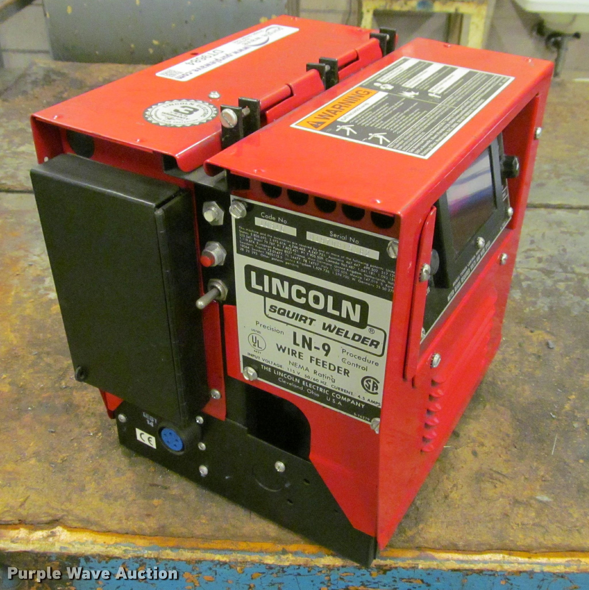 item sp welder auction electric d wire lincoln sold for image