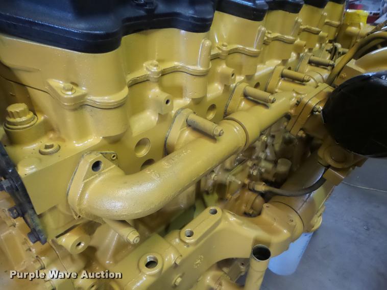 Caterpillar C15 6NZ six cylinder turbo diesel engine | Item