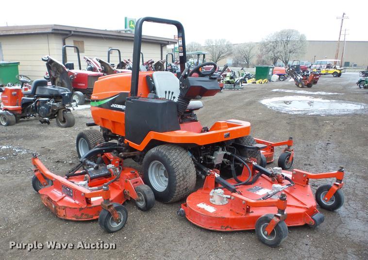 Array - jacobsen hr 5111 wide area mower   item ag9025   sold  april     rh   purplewave com