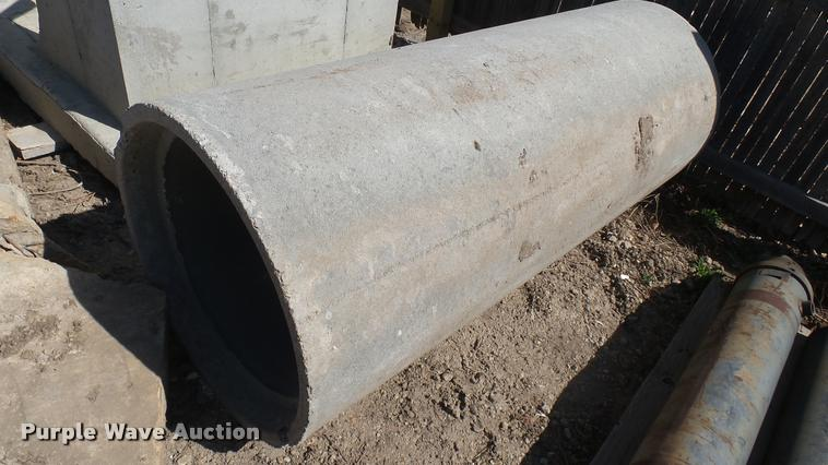 12) concrete culvert pipes | Item DQ9898 | SOLD! April 12 V