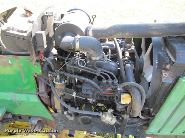 1987 John Deere 855 lawn tractor | Item DT9612 | SOLD! April