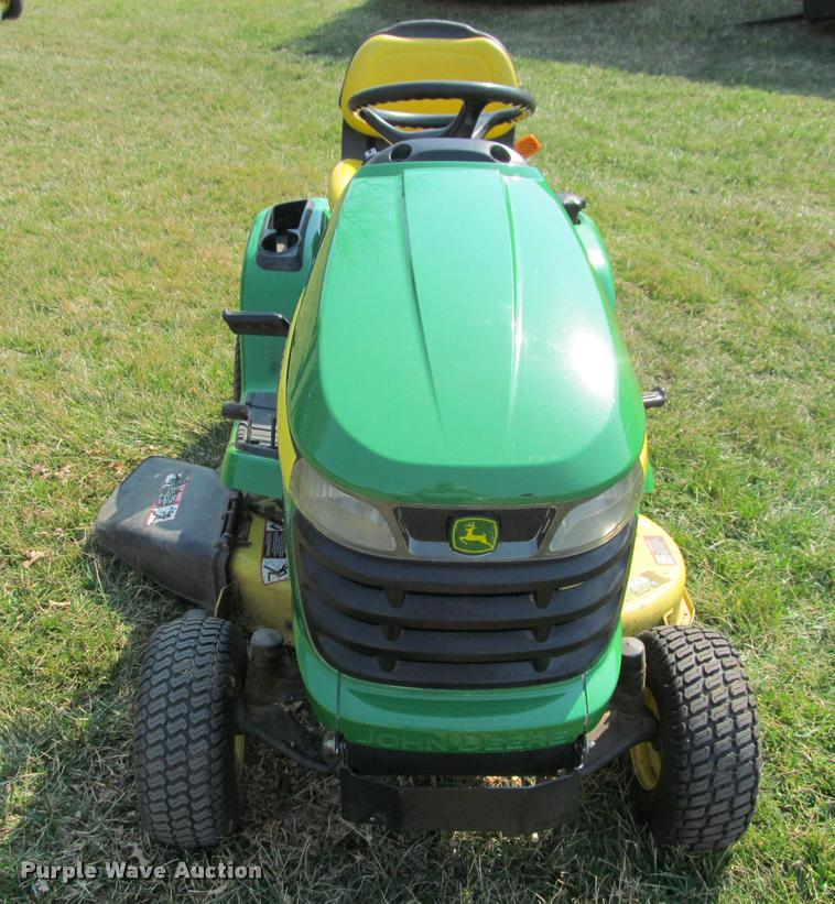 2007 john deere x300 lawn mower in shawnee ks  item