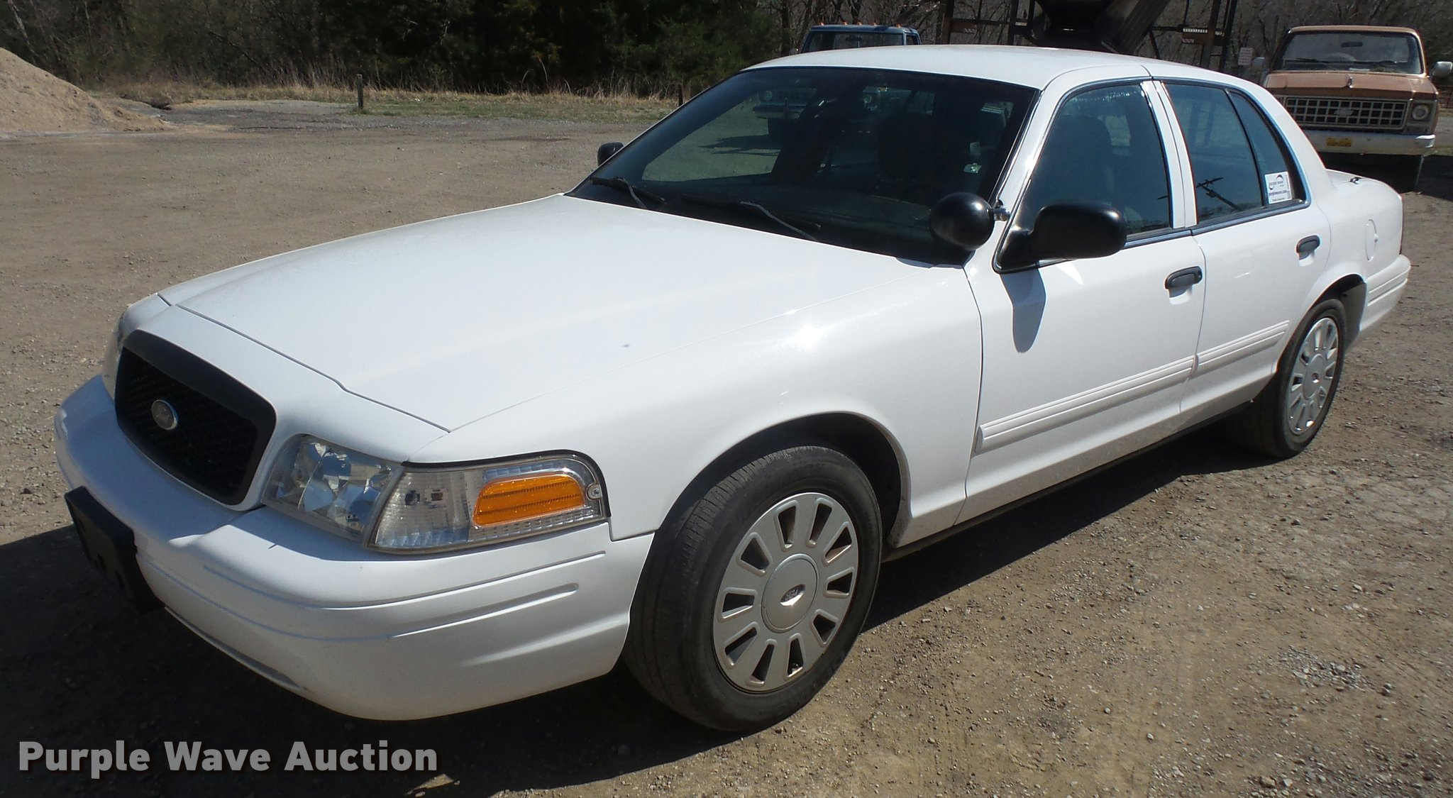 Db0562 image for item db0562 2011 ford crown victoria police interceptor