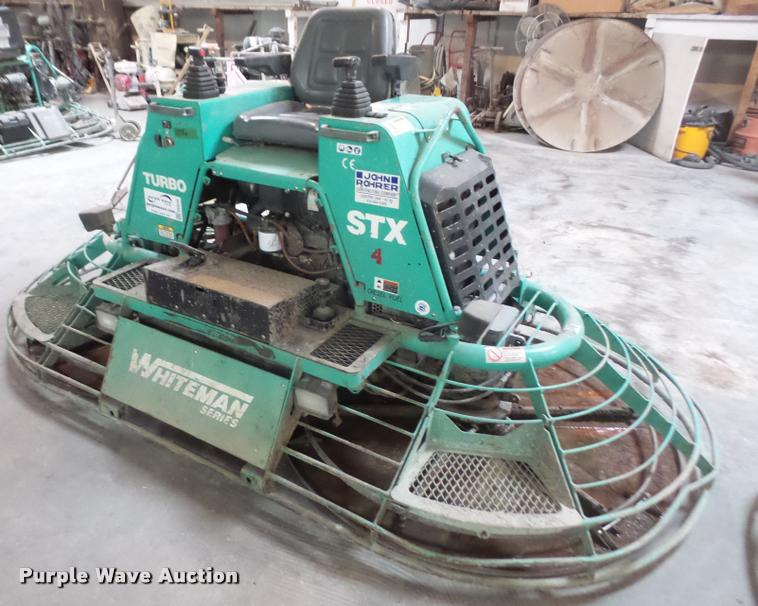 2005 Whiteman Stx 55y 6 Power Trowel Item Db0540 Sold