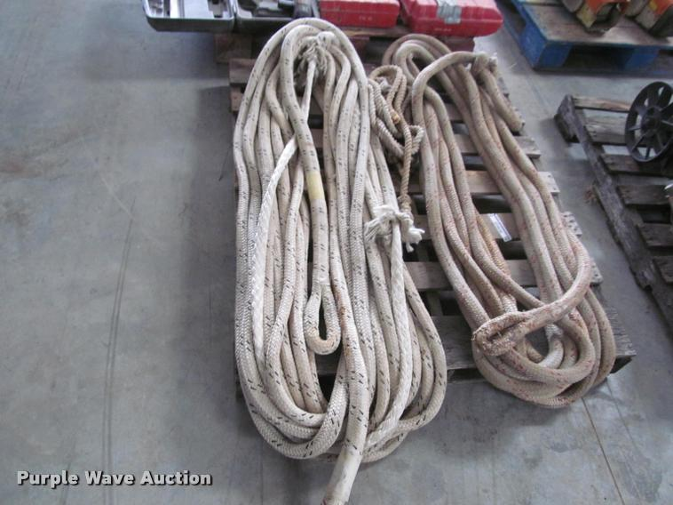 Altec bucket truck lift ropes | Item DT9546 | SOLD! April 13