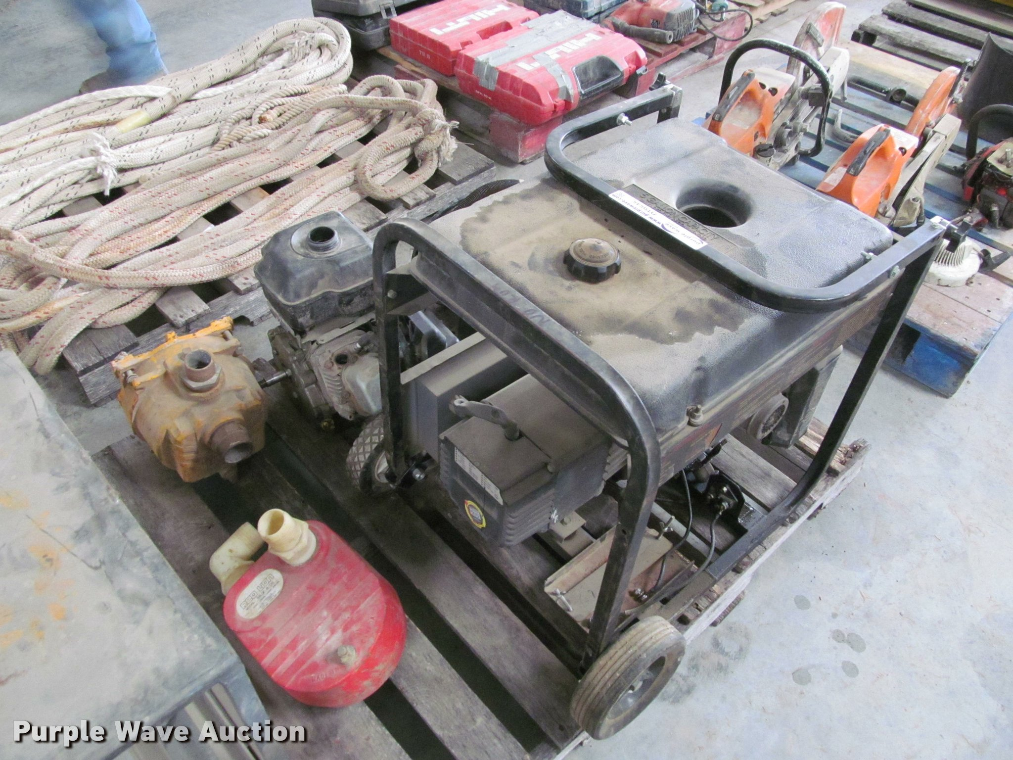 Generator and water pump parts | Item DT9545 | SOLD! April 1