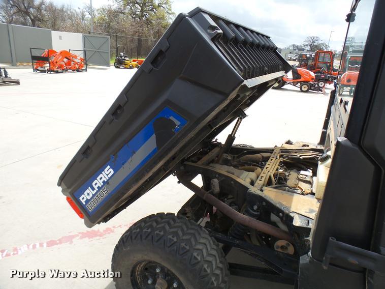 2013 Polaris Brutus 900 utility vehicle   Item DB2475   SOLD
