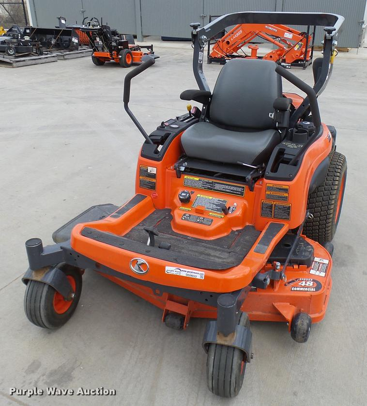 Kubota ZG222 ZTR lawn mower | Item DG9653 | SOLD! April 19 A