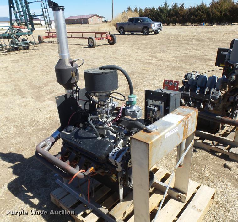 Generac 8 1L eight cylinder natural gas irrigation engine  