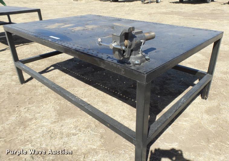 Superior DI9692 Image For Item DI9692 Steel Shop Table
