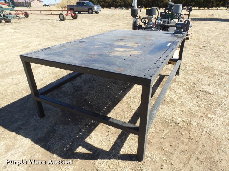 ... DI9692 Image For Item DI9692 Steel Shop Table