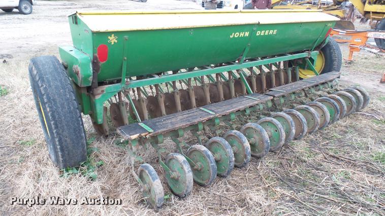 John Deere FB B Grain Drill Item DM9152 SOLD April 19 A