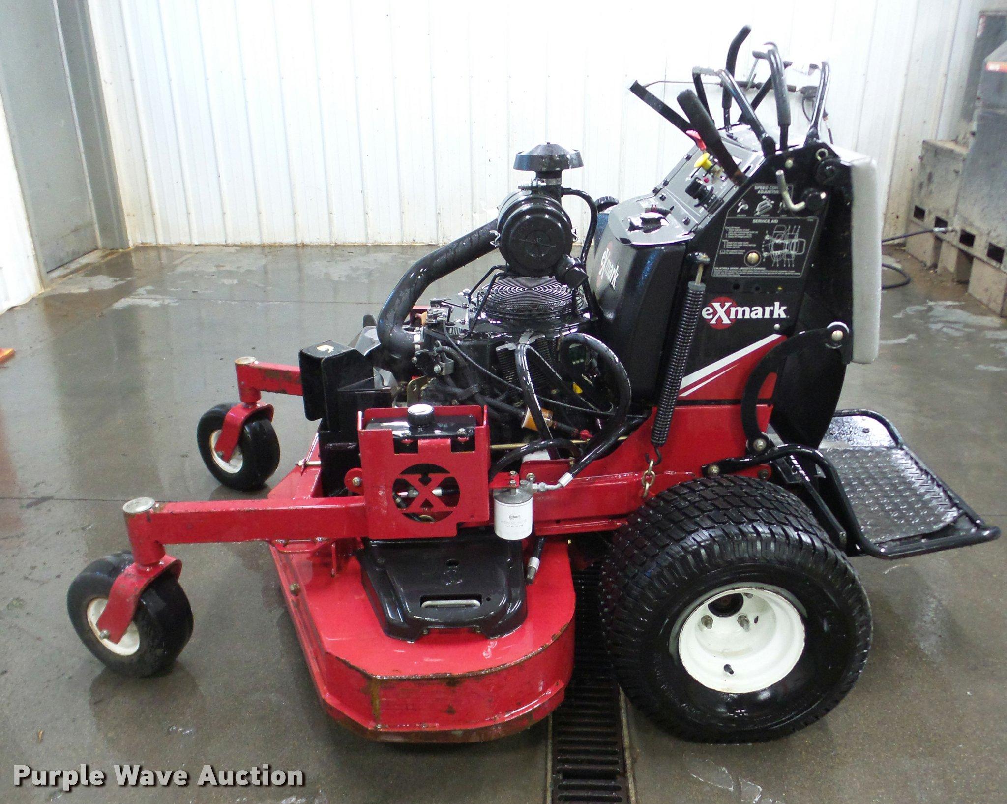 Exmark Vantage lawn mower   Item DA1780   SOLD! April 25 Tri