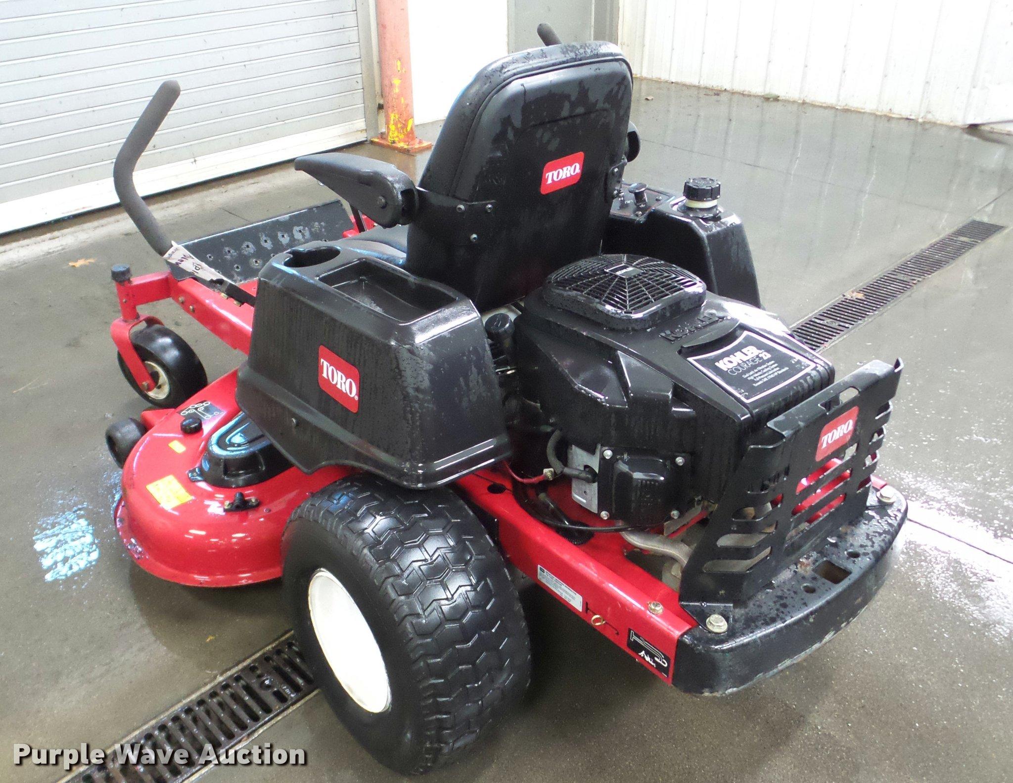 Toro Time Cutter Z5020 ZTR lawn mower   Item DA1795   SOLD!