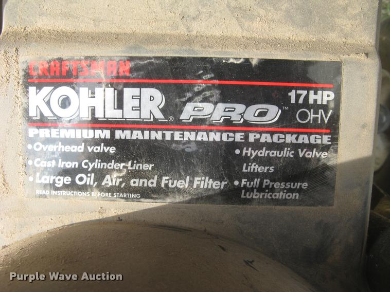 Craftsman LT2000 lawn mower | Item AX9269 | SOLD! April 26 V