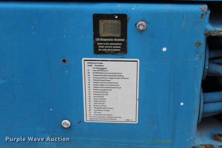 2000 Genie GS2032 scissor lift | Item L4968 | SOLD! April 26