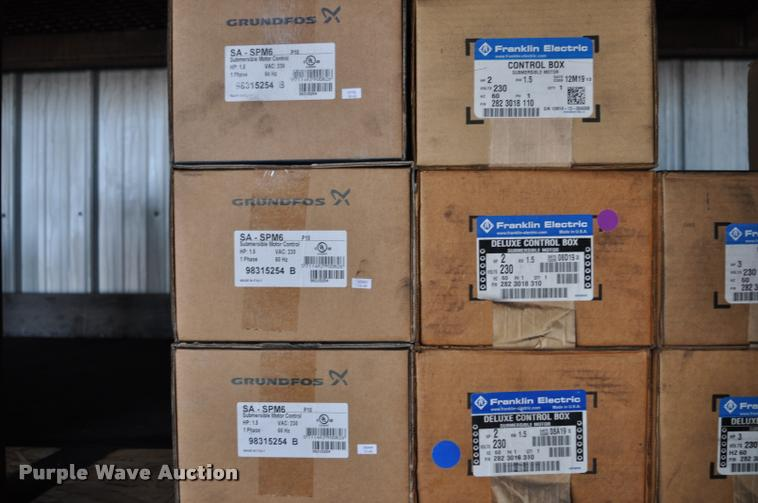 Franklin Electric submersible motor control boxes | Item L52