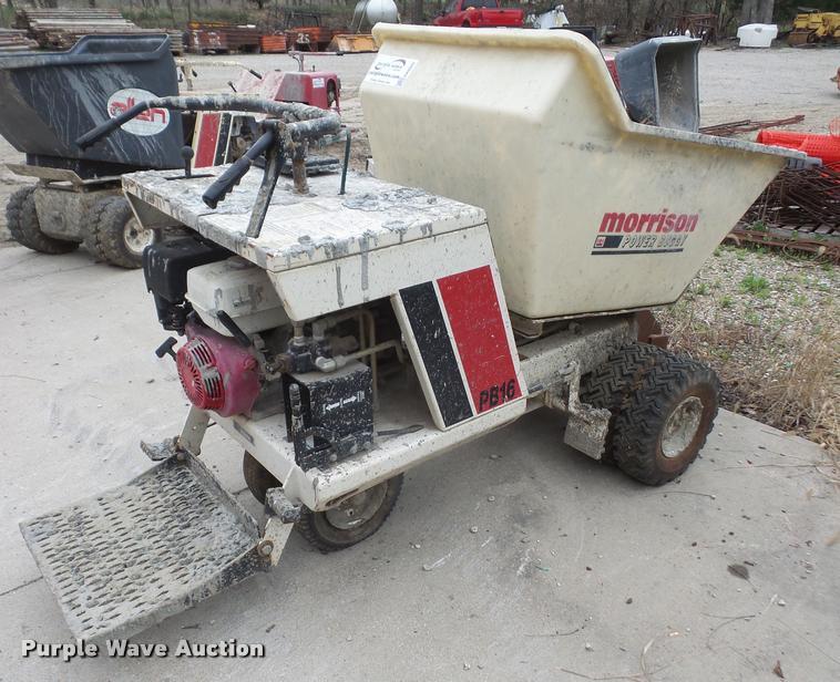 Terex Morrison OMPB16A power buggy | Item DA8026 | SOLD! Apr