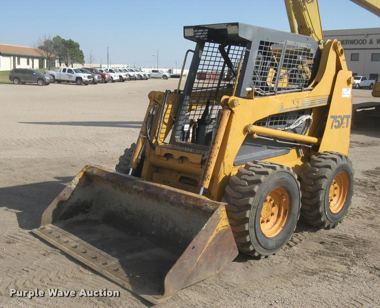 1999 case 75xt skid steer item l3984 sold april 27 cons rh purplewave com Case 75XT Engine Case 75XT Engine