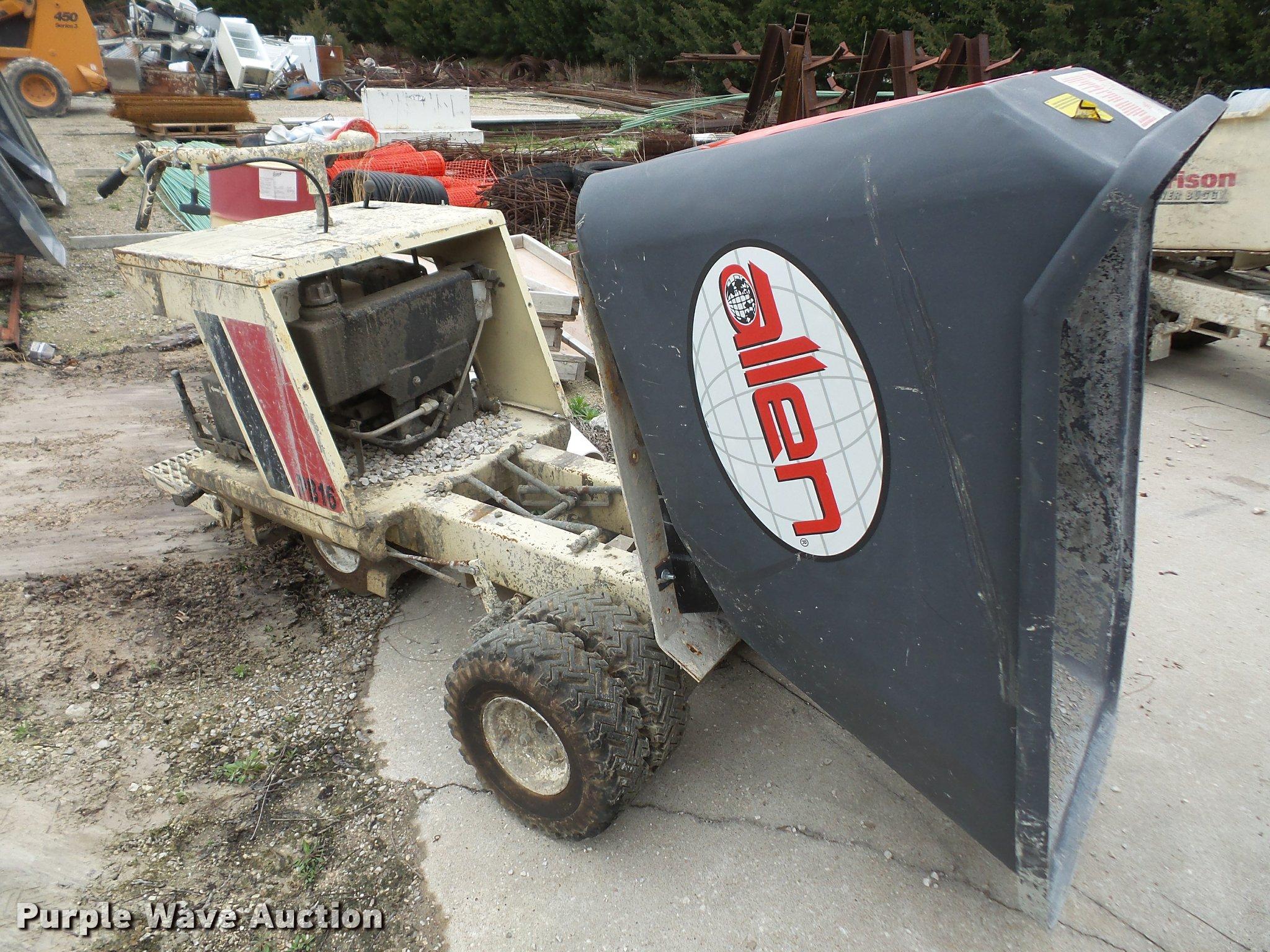 Terex Morrison OMPB16A power buggy | Item DA8025 | SOLD! Apr