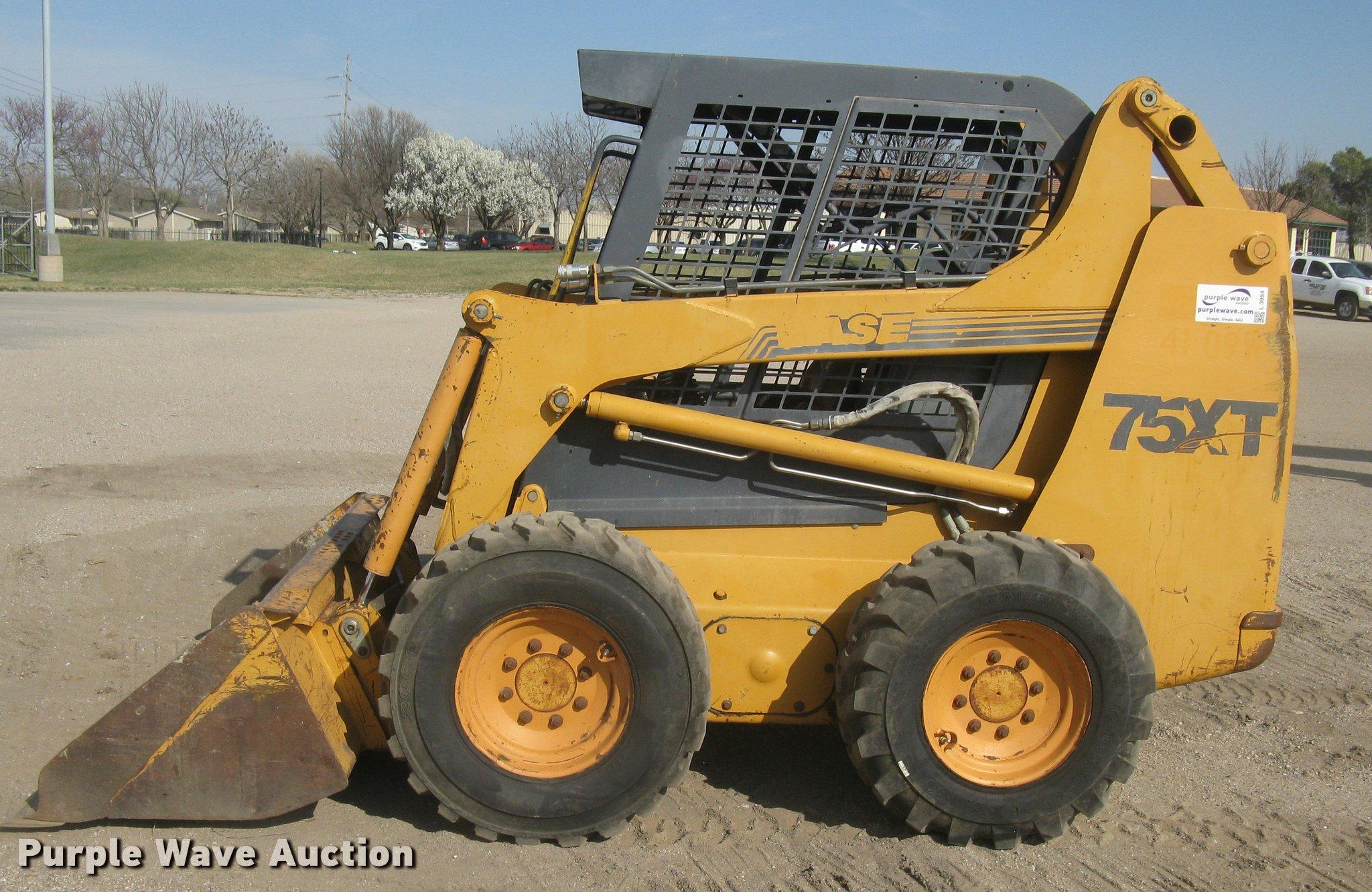 1999 case 75xt skid steer item l3984 sold april 27 cons rh purplewave com