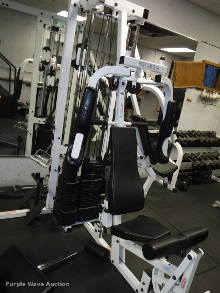 Pacific fitness catalina 3 station home gym item by9146