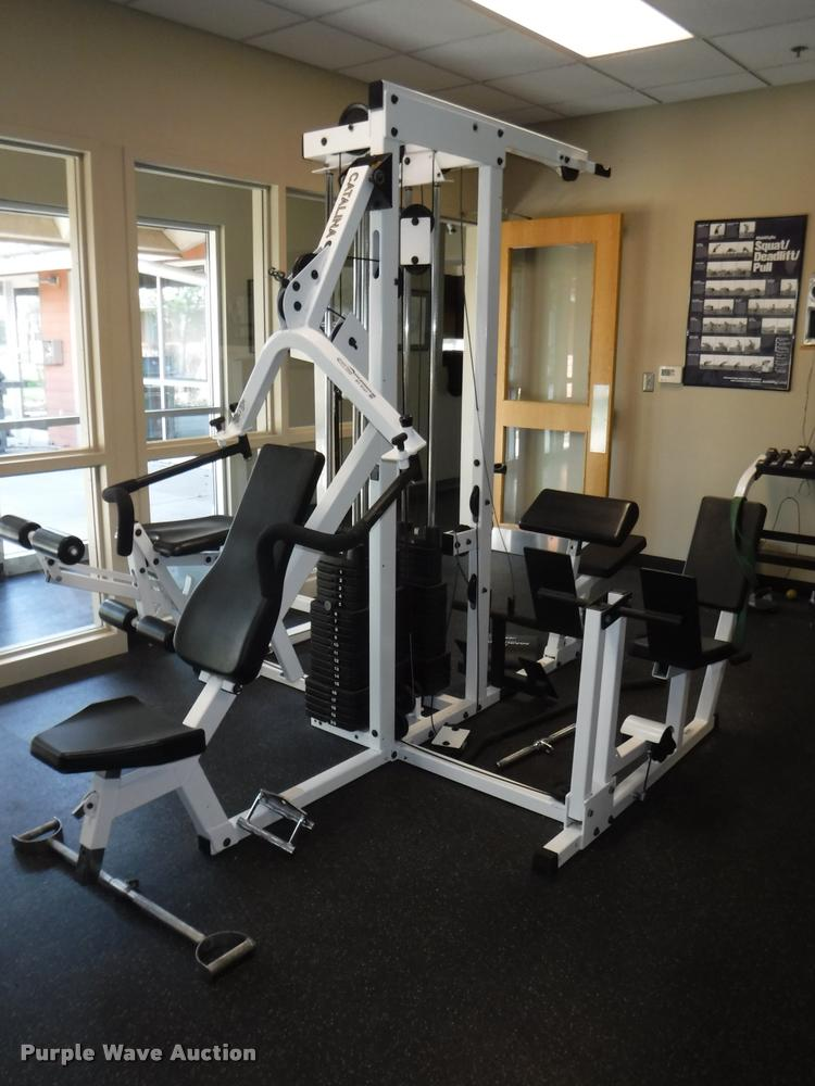 Pacific fitness catalina 4 station home gym item by9147