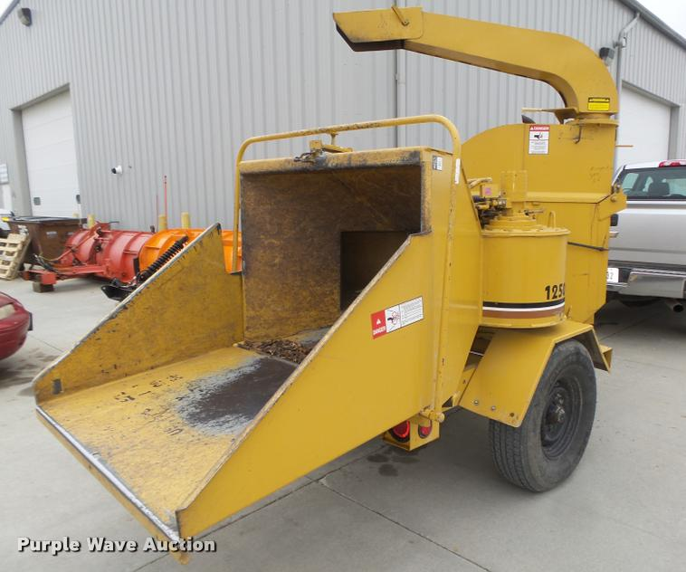 1991 Vermeer 1250 chipper   Item DA0630   SOLD! May 2 Govern... on