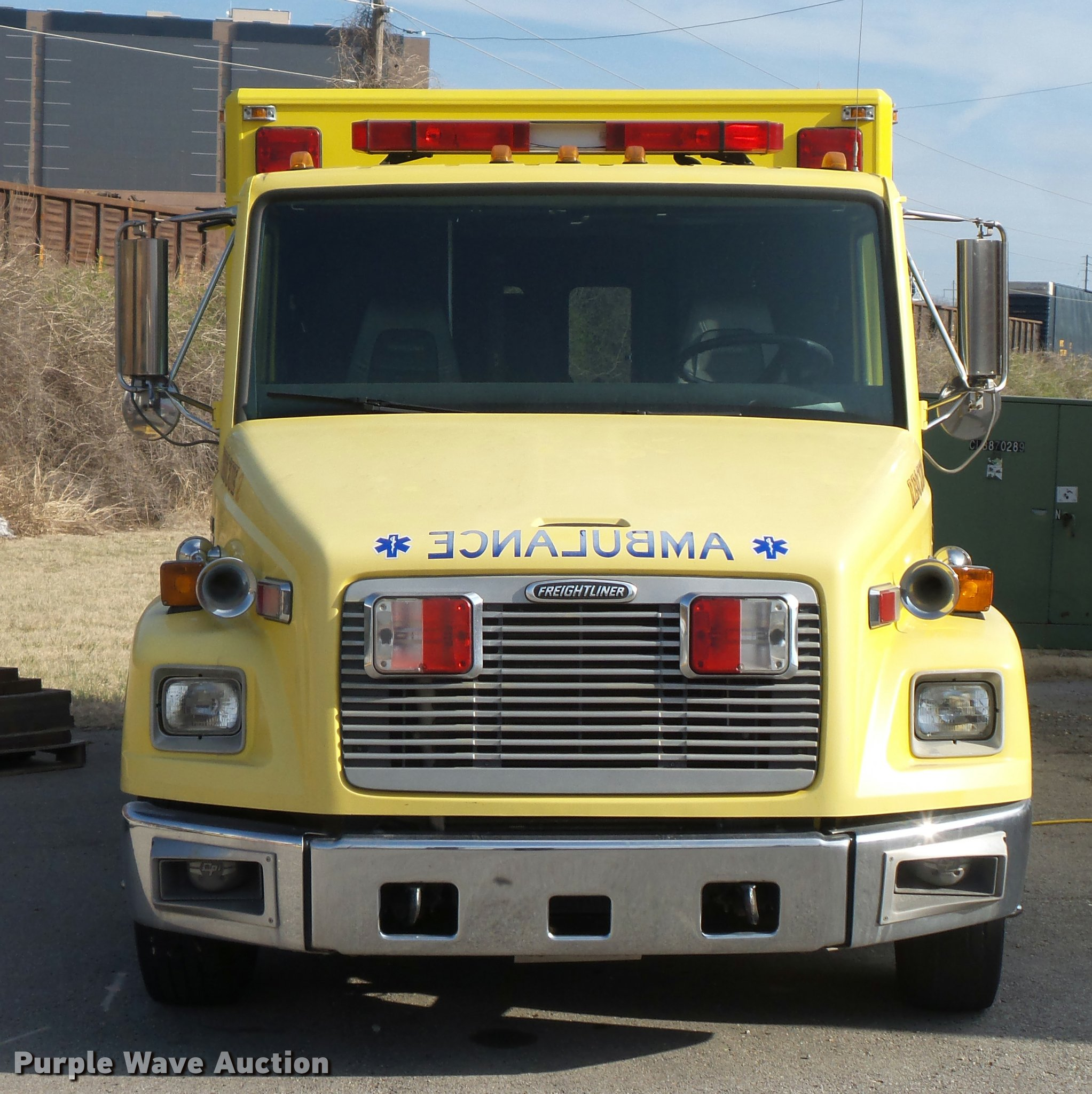 freightliner fl60 ambulance full size in new window