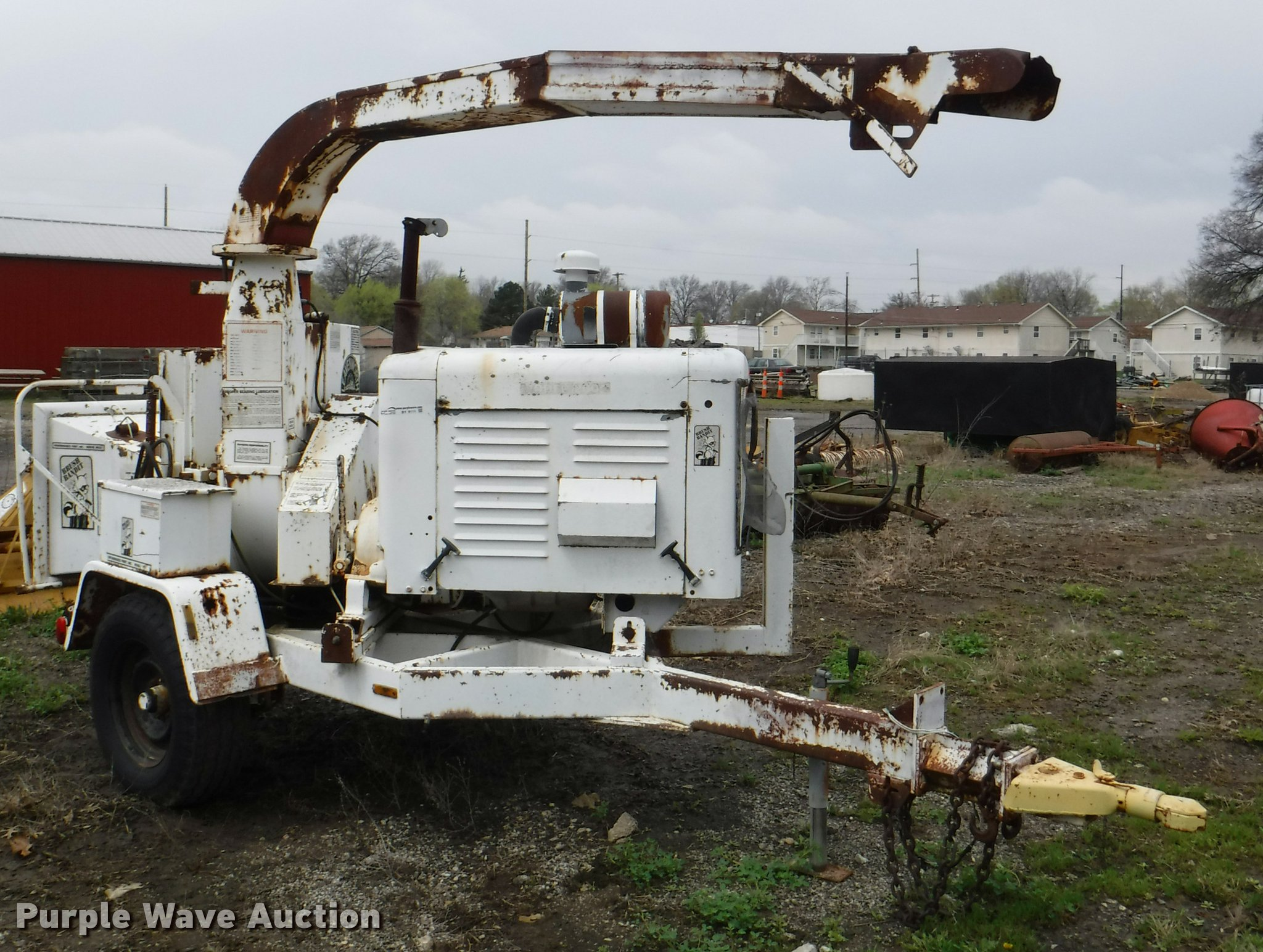 Brush Bandit 200 wood chipper | Item BY9111 | SOLD! May 2 Go... on