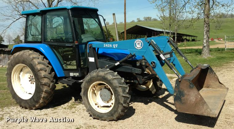 1999 New Holland 6635 Tractor Item F1842 Sold May 3