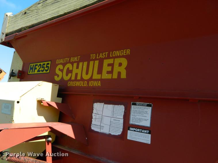Schuler HF255 feed wagon | Item K2655 | SOLD! May 3 Ag Equip