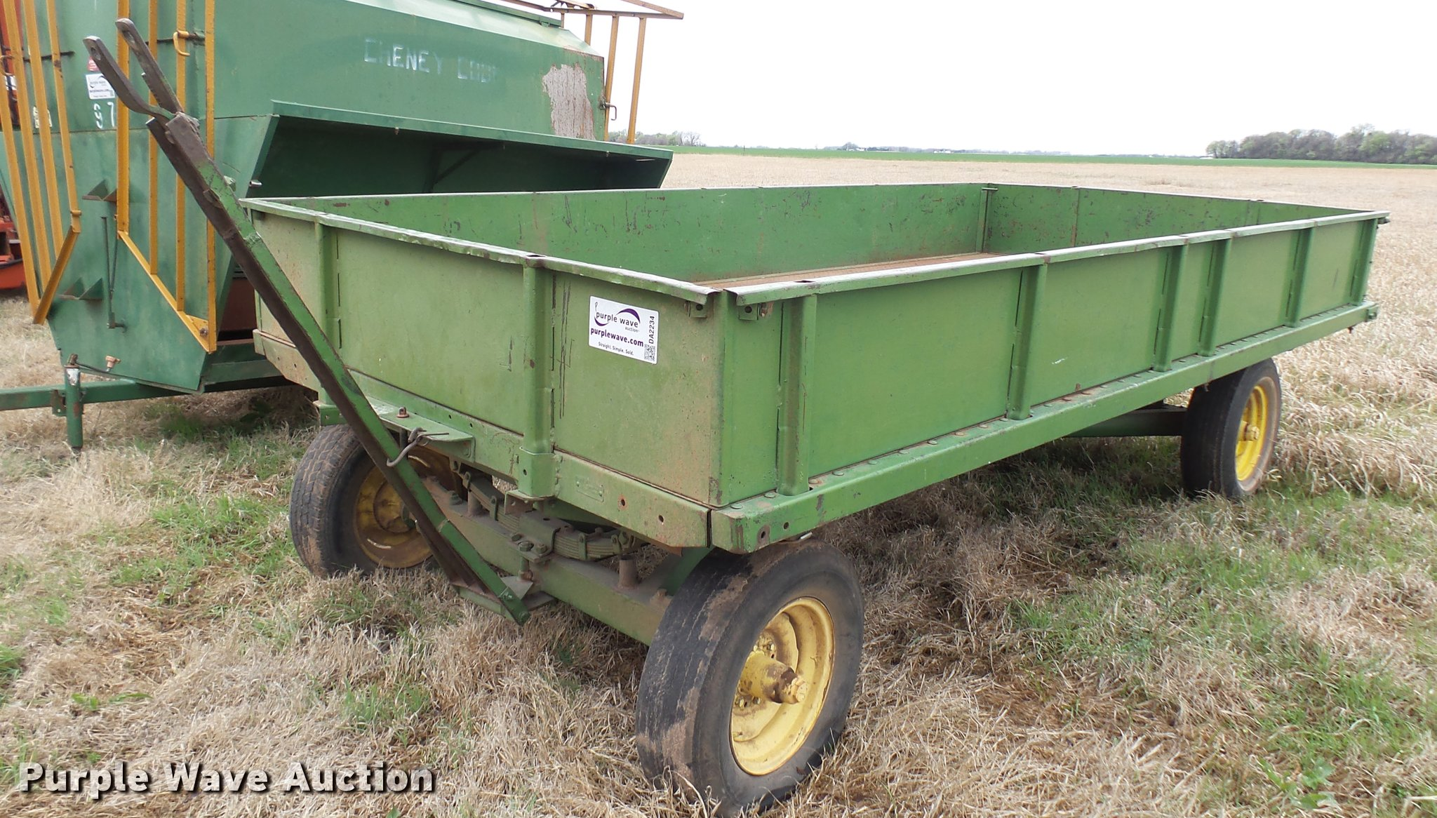 Sears Roebuck Wagon Item Da2234 Sold May 3 Ag Equipment